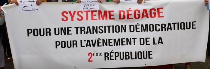 Mardi, 21 mai 2019, la communauté universitaire de Bejaia ainsi que les robes noires réitèrent leur ras-le-bol des manigances de Gaid et consorts. 2301