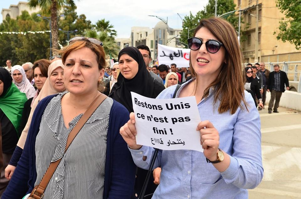 Mardi, 21 mai 2019, la communauté universitaire de Bejaia ainsi que les robes noires réitèrent leur ras-le-bol des manigances de Gaid et consorts. 2309