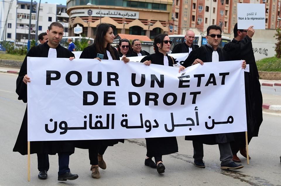 Mardi, 21 mai 2019, la communauté universitaire de Bejaia ainsi que les robes noires réitèrent leur ras-le-bol des manigances de Gaid et consorts. 2336