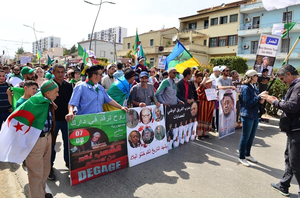 Bejaia, 17 mai 2019, treizième vendredi 2347