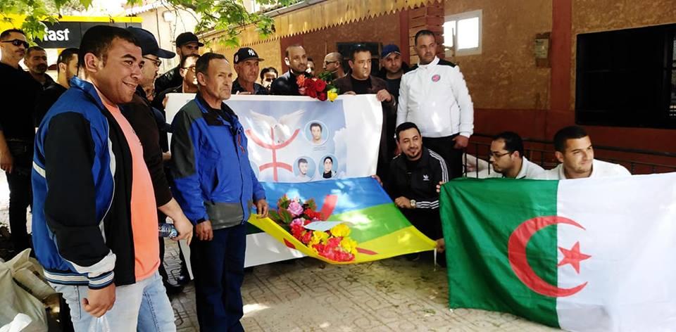 Hommage à Saidi Akli, victime du printemps noir, à Aokas le jeudi 25 Avril 2019 244