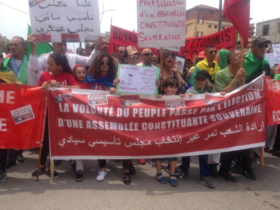 Bejaia, 24 mai 2019, Acte 14. Mobilisation massive et déterminée à faire chavirer le plan de Gaid et consorts - Page 2 2443