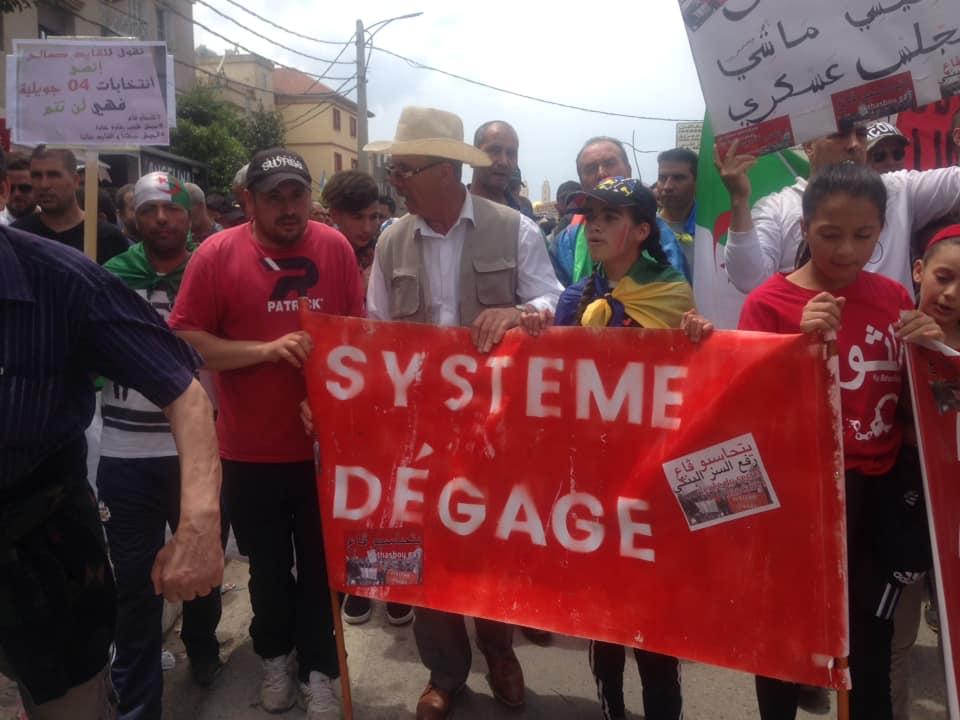 Bejaia, 24 mai 2019, Acte 14. Mobilisation massive et déterminée à faire chavirer le plan de Gaid et consorts - Page 3 2446