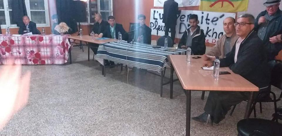 Conférence-débat autour de la révolutionnaire populaire en cours en Algérie à Aokas  2465