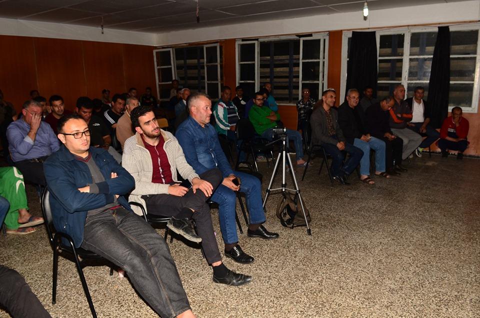 Conférence-débat autour de la révolutionnaire populaire en cours en Algérie à Aokas  2473