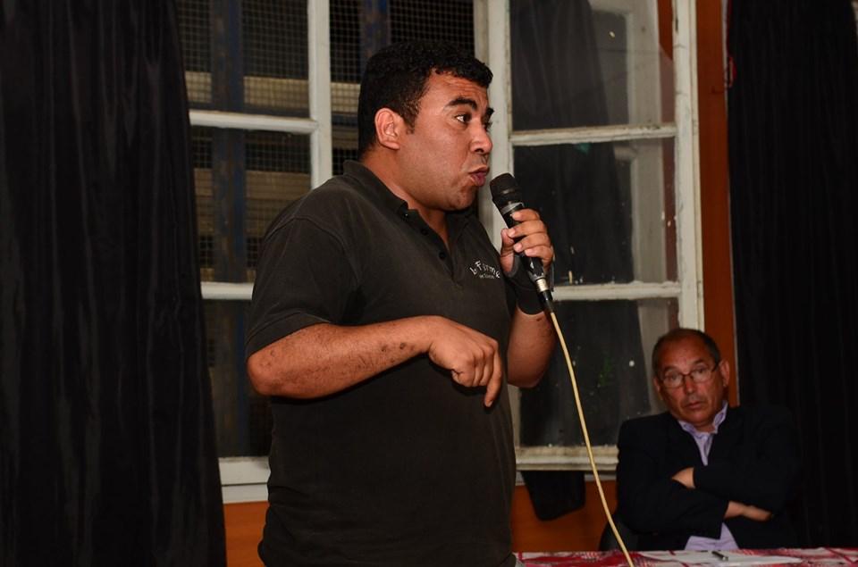Conférence-débat autour de la révolutionnaire populaire en cours en Algérie à Aokas  2474