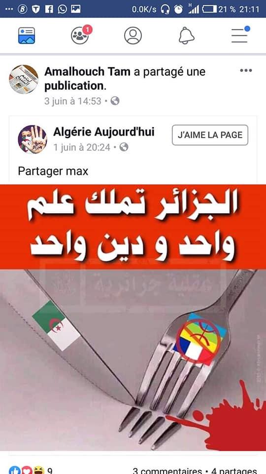 Pourquoi cet acharnement sur l'emblème Amazigh ?   2478