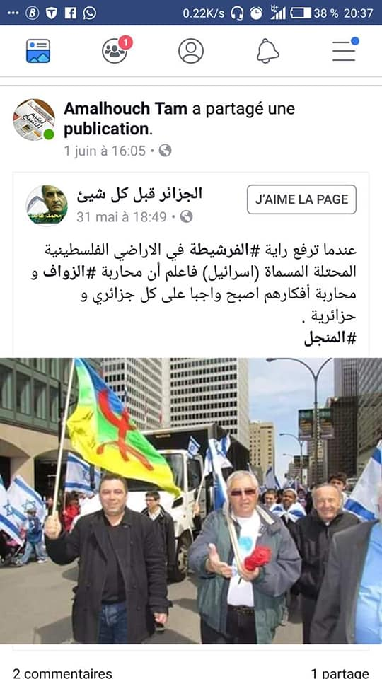 Pourquoi cet acharnement sur l'emblème Amazigh ?   2480