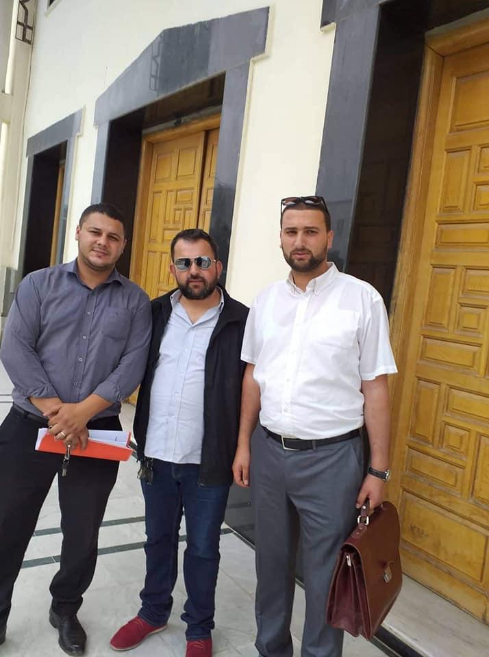 Dépôt de plainte contre la présidente du PEP, Naima Salhi 2487