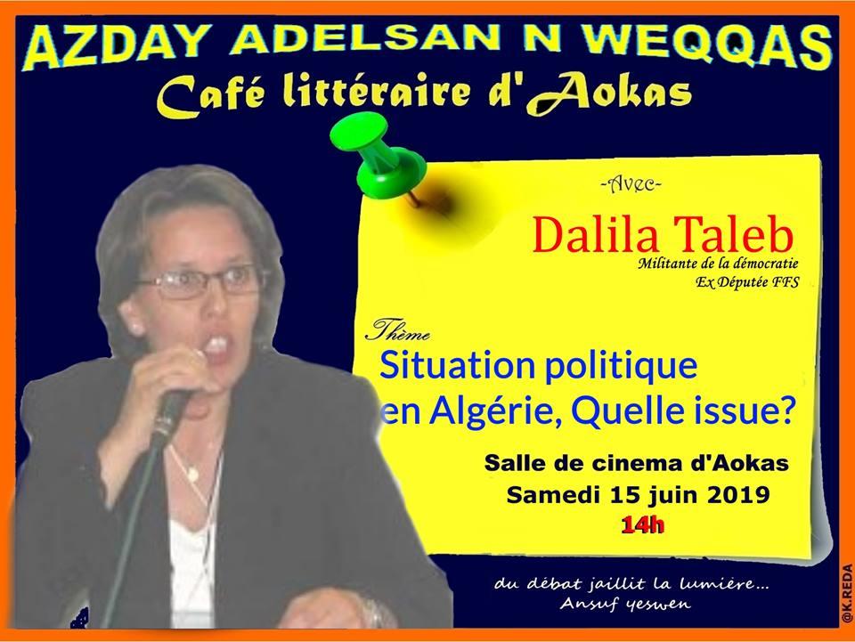 Dalila Taleb à Aokas le samedi 15 juin 2019 2496