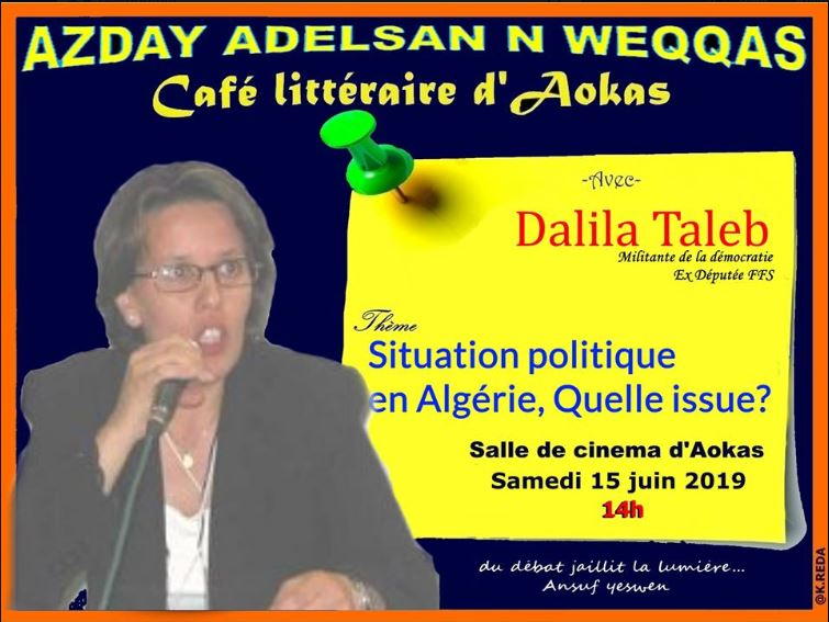 Dalila Taleb à Aokas le samedi 15 juin 2019 2497