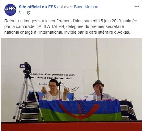 Dalila Taleb à Aokas le samedi 15 juin 2019 2503