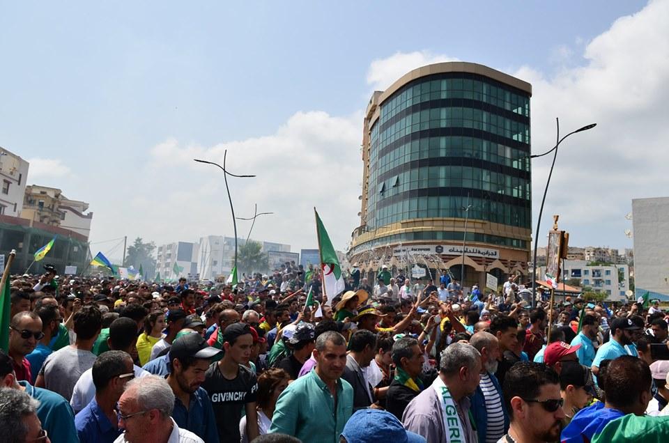 Bejaia 14 juin 2019, imposante marche contre le système 2505
