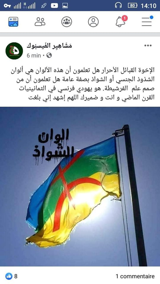 Pourquoi toute cette haine envers le drapeau Amazigh?  2529