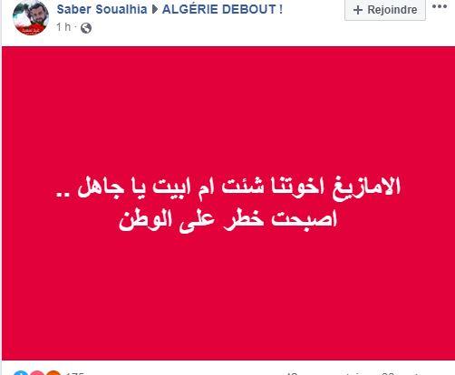 Pourquoi toute cette haine envers le drapeau Amazigh?  2551