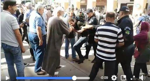 Aidali Yani, animateur du mouvement estudiantin, arrêté mardi 08 octobre à Alger 2568