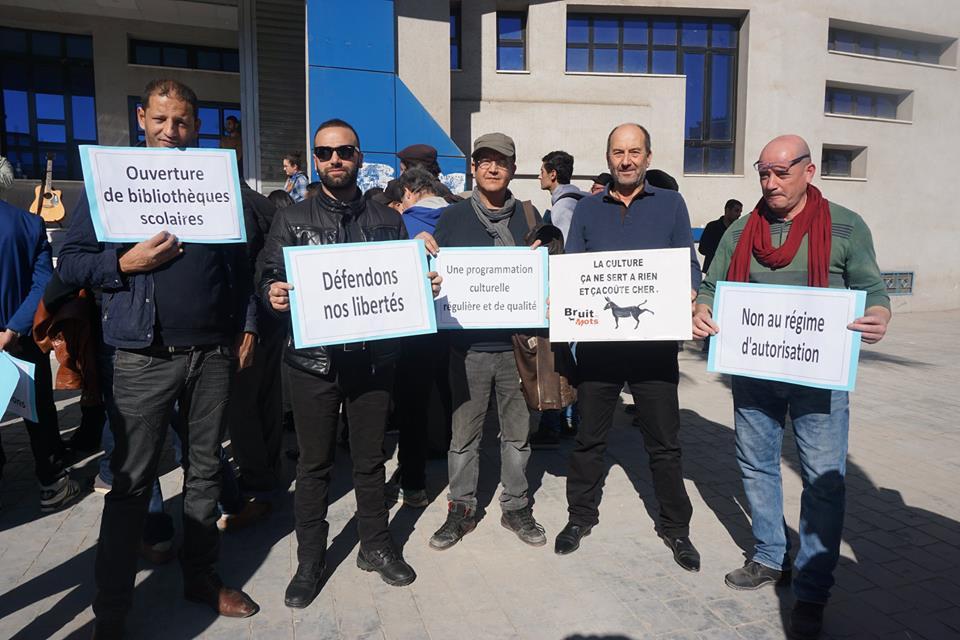 Béjaïa : Des militants se mobilisent pour la culture - Page 2 2618