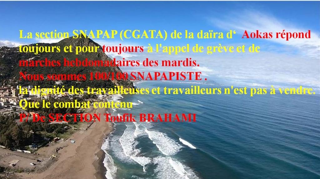 PROTESTATION DEVANT LE SIEGE DE LA DAIRA D'AOKAS LE JEUDI 06 FEVRIER 2020  - Page 2 2646