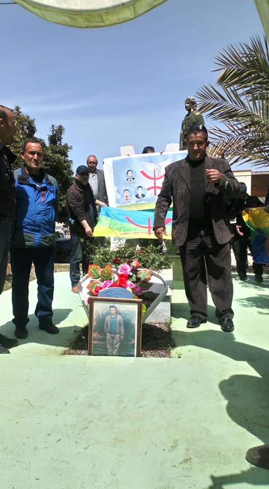 Hommage à Saidi Akli, victime du printemps noir, à Aokas le jeudi 25 Avril 2019 286