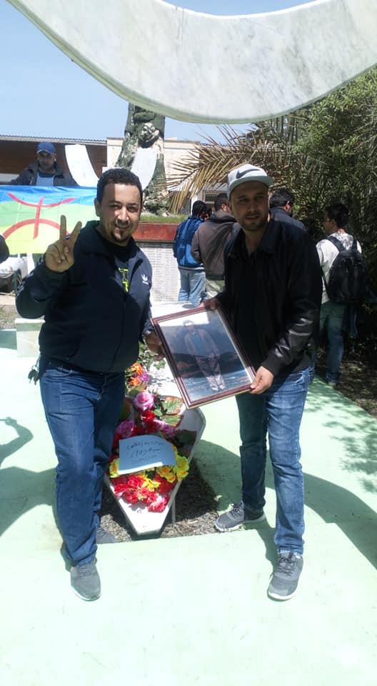 Hommage à Saidi Akli, victime du printemps noir, à Aokas le jeudi 25 Avril 2019 288