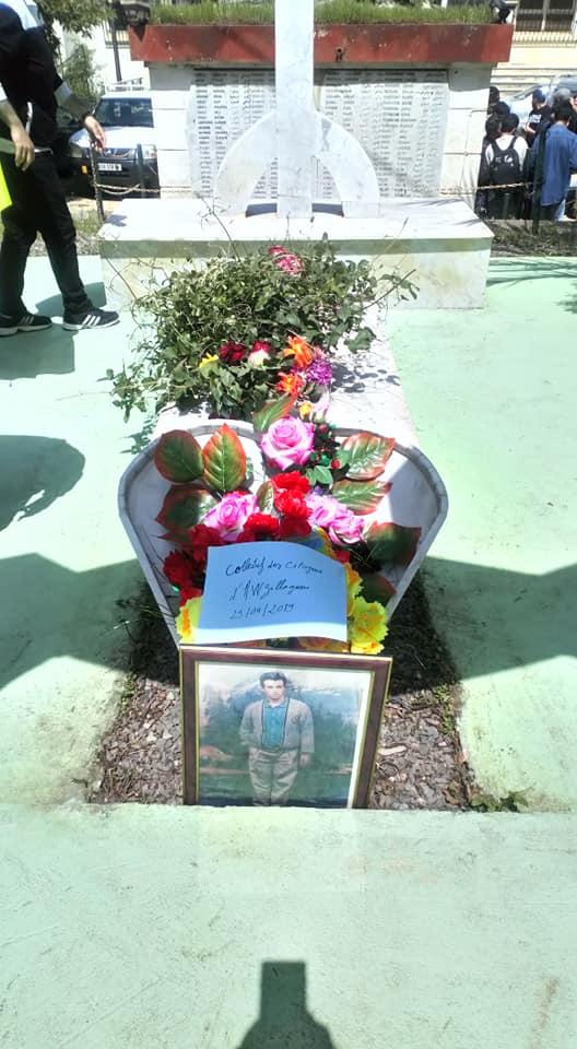 Hommage à Saidi Akli, victime du printemps noir, à Aokas le jeudi 25 Avril 2019 289