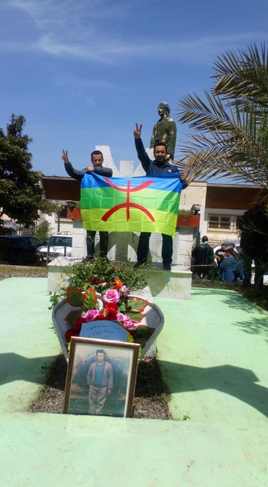 Hommage à Saidi Akli, victime du printemps noir, à Aokas le jeudi 25 Avril 2019 290