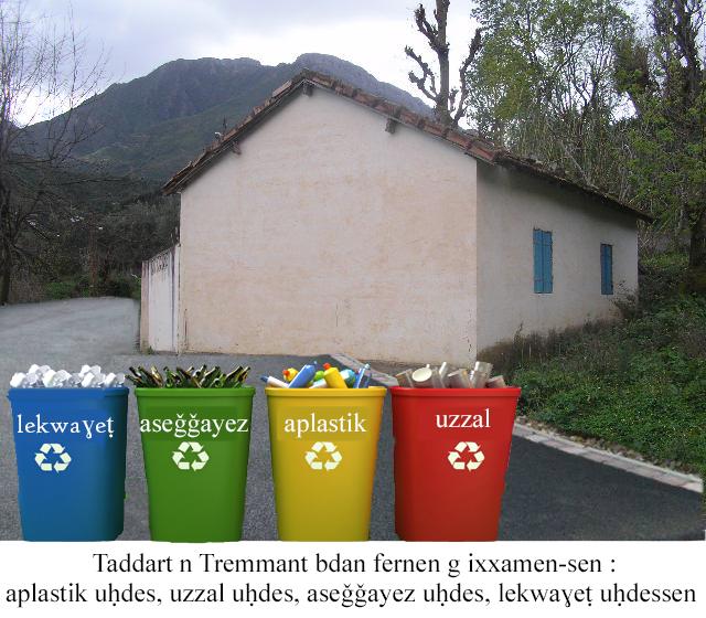 Sensibilisation sur le tri sélectif des déchets à Taremant vendredi 26 octobre 2018 3410