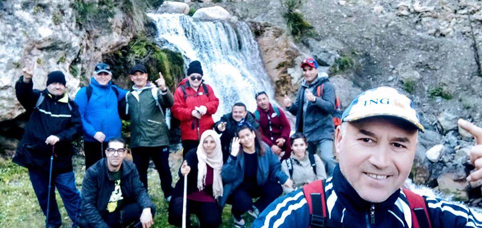 Randonnée pédestre Akkache, Cascade Mahrouja- cimetière des Martyrs- le canyon BOUHALOUMEN-Tizi warle samedi 22 février 2020 359