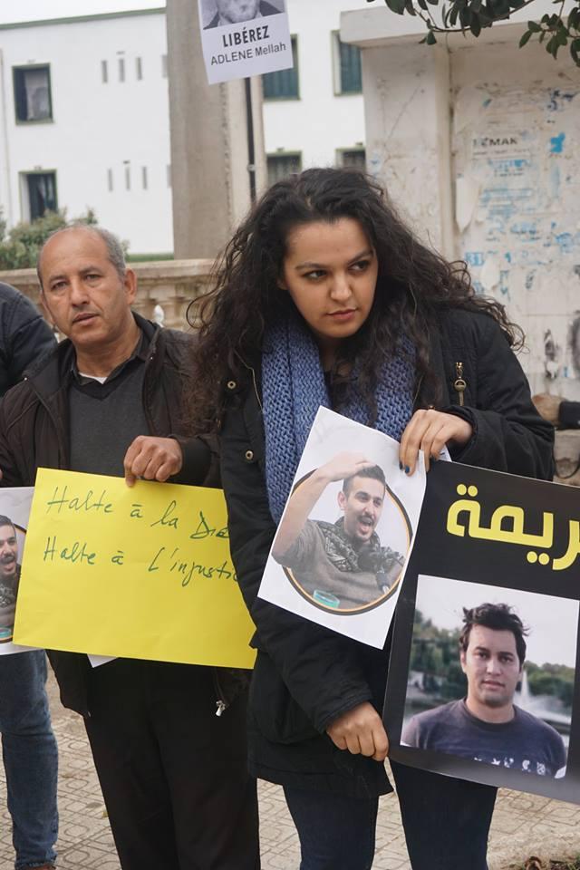 Rassemblement à Aokas pour demander la libération de Adlene Mellah et de tous les détenus d'opinion - Page 2 4014
