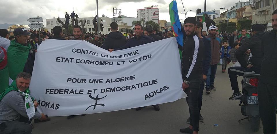 Algérie fédérale et démocratique  4019