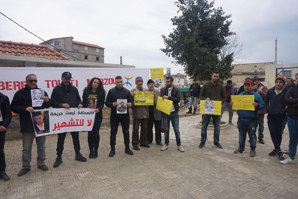 Rassemblement à Aokas pour demander la libération de Adlene Mellah et de tous les détenus d'opinion - Page 2 4110