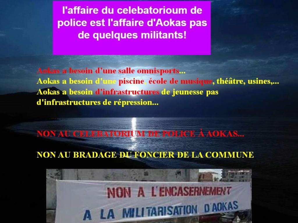 NON AU CELEBATORIUM DE POLICE À AOKAS... 417