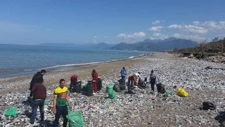 nettoyage des plages à Aokas (samedi 30 mars 2019) 423