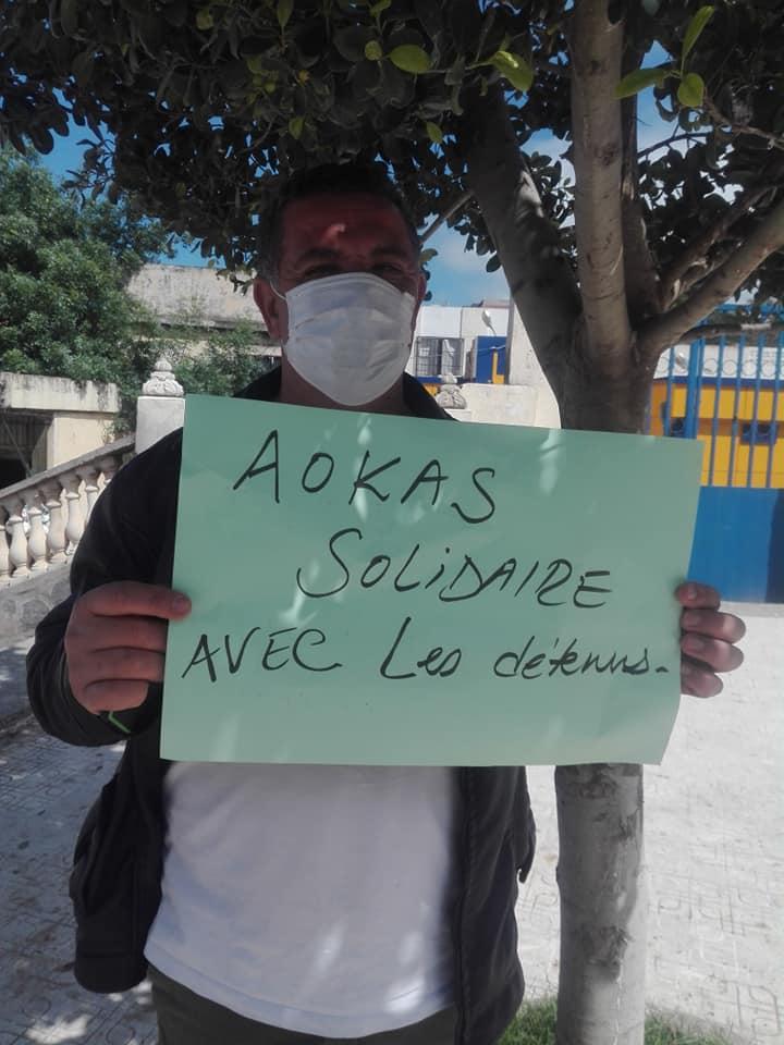 Rassemblement à Aokas le mercredi 29 Avril 2020 contre les lois liberticides et pour la liberté d'expression 5130