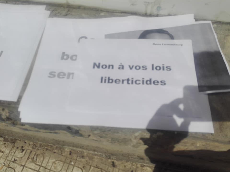 Rassemblement à Aokas le mercredi 29 Avril 2020 contre les lois liberticides et pour la liberté d'expression 5139