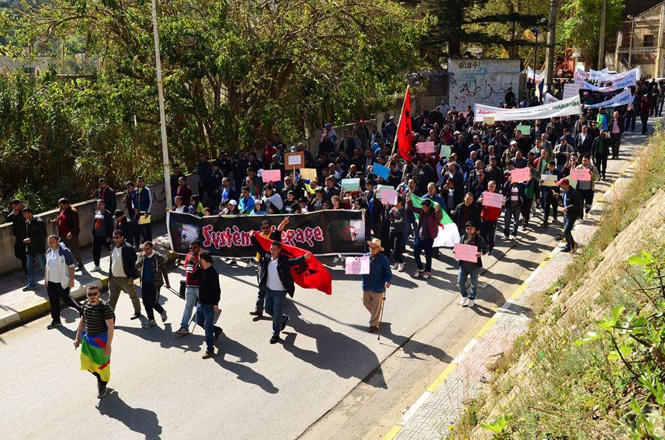 Marche contre le système à Aokas le samedi 30 mars 2019 518