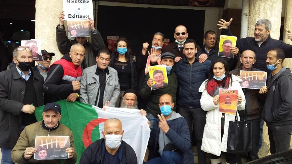 Action de soutien de toutes les sections SNAPAP pour le syndicaliste et militant Karim Djidjeli le 30/12/2020 5279