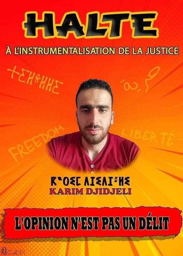 Action de soutien de toutes les sections SNAPAP pour le syndicaliste et militant Karim Djidjeli le 30/12/2020 5283