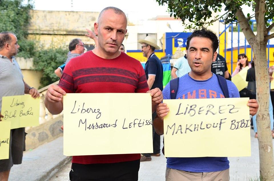 Rassemblement à Aokas pour exiger la libération des prisonniers du drapeau Amazigh 25 juin 2019 533
