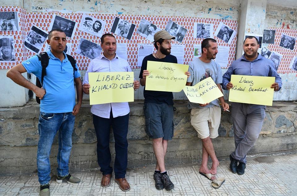 Rassemblement à Aokas pour exiger la libération des prisonniers du drapeau Amazigh 25 juin 2019 535