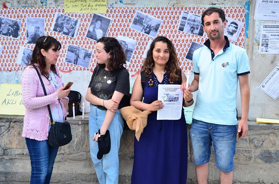Rassemblement à Aokas pour exiger la libération des prisonniers du drapeau Amazigh 25 juin 2019 547