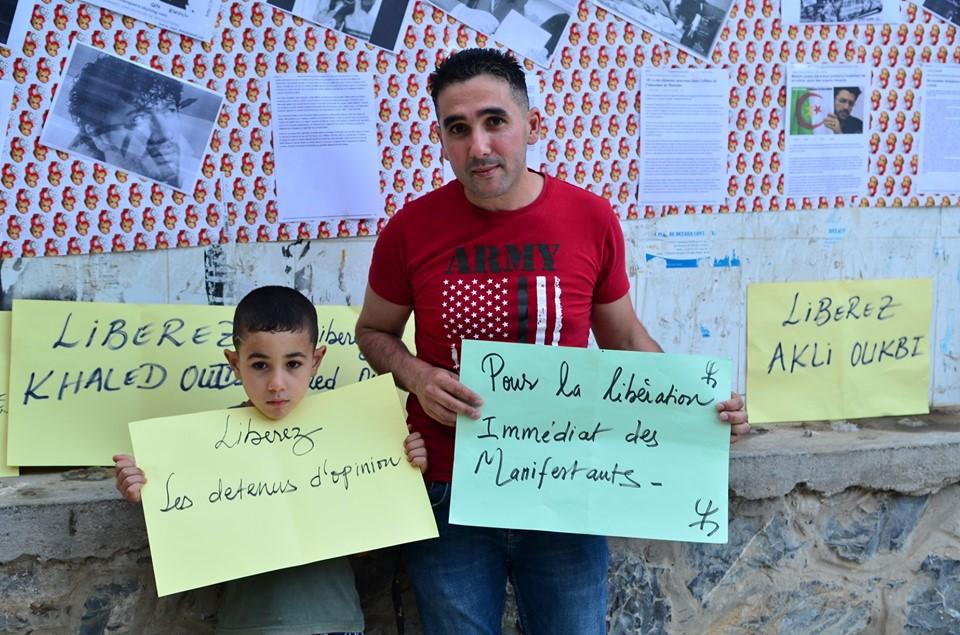 Rassemblement à Aokas pour exiger la libération des prisonniers du drapeau Amazigh 25 juin 2019 - Page 2 551