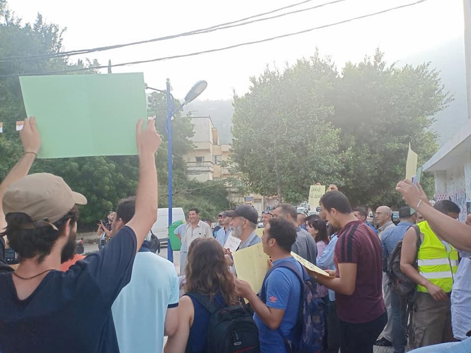 Rassemblement à Aokas pour exiger la libération des prisonniers du drapeau Amazigh 25 juin 2019 - Page 2 553