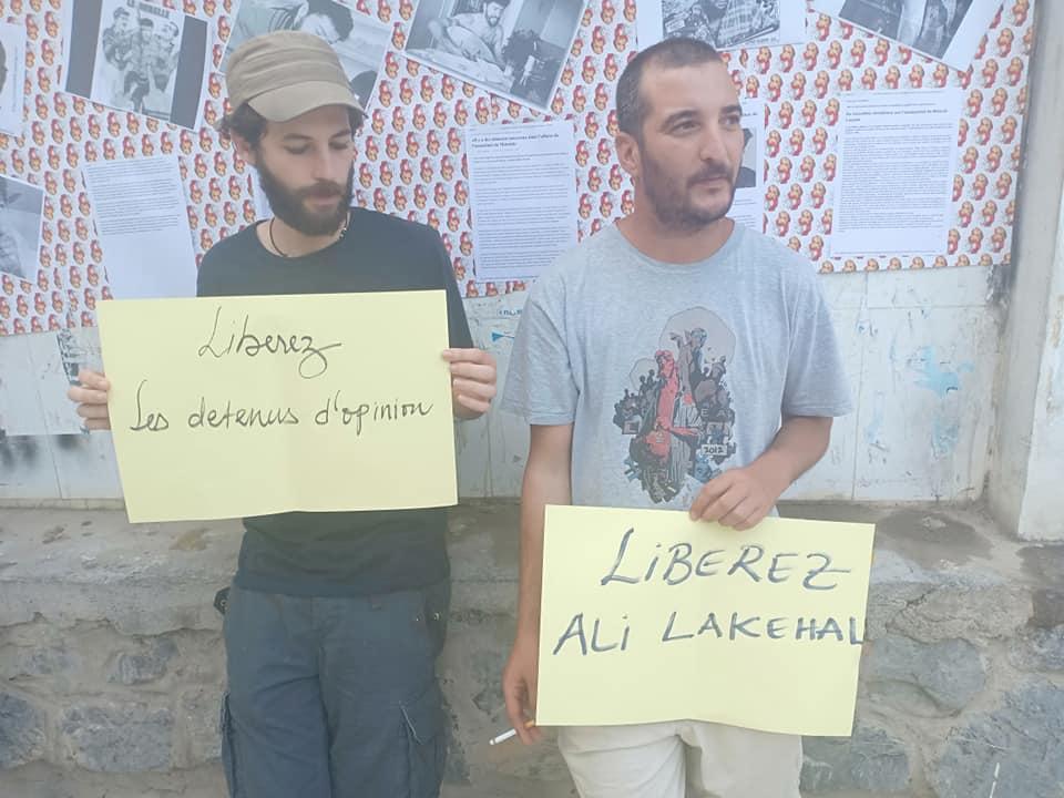 Rassemblement à Aokas pour exiger la libération des prisonniers du drapeau Amazigh 25 juin 2019 - Page 2 556
