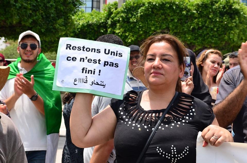 Bejaia: Mardi, 02 Juillet 2019. Dix-neuvième marche de la communauté universitaire pour dénoncer la justice aux ordres et exiger la libération de tous les détenus d'opinion. 575