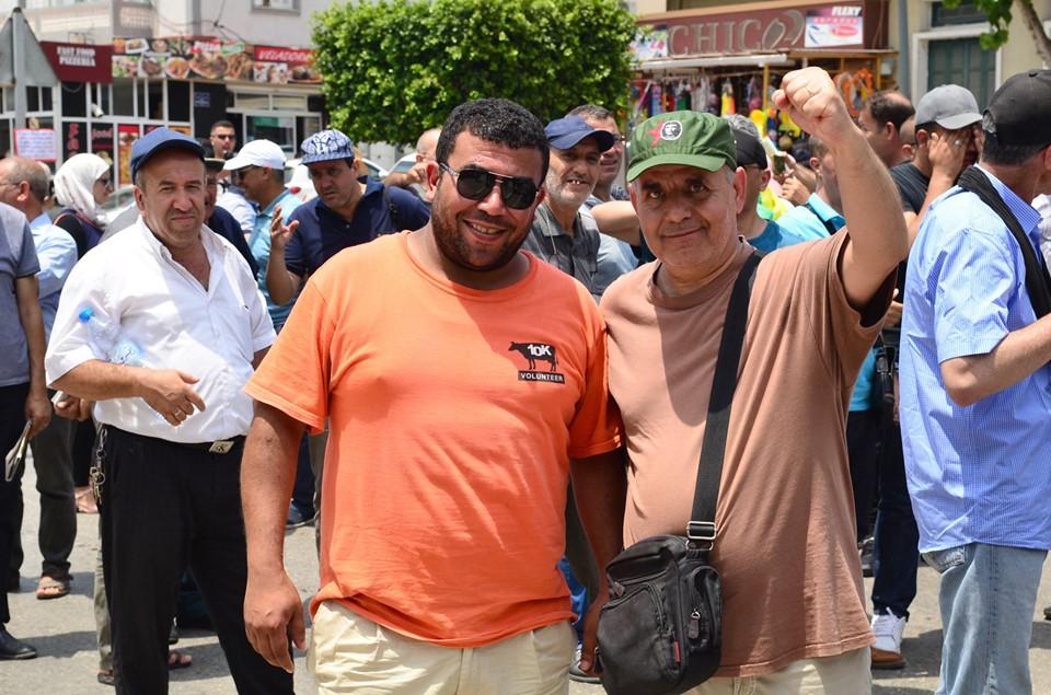 Bejaia: Mardi, 02 Juillet 2019. Dix-neuvième marche de la communauté universitaire pour dénoncer la justice aux ordres et exiger la libération de tous les détenus d'opinion. 578