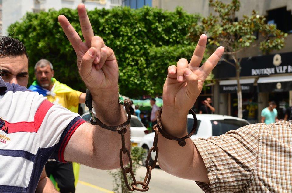 Bejaia: Mardi, 02 Juillet 2019. Dix-neuvième marche de la communauté universitaire pour dénoncer la justice aux ordres et exiger la libération de tous les détenus d'opinion. 583