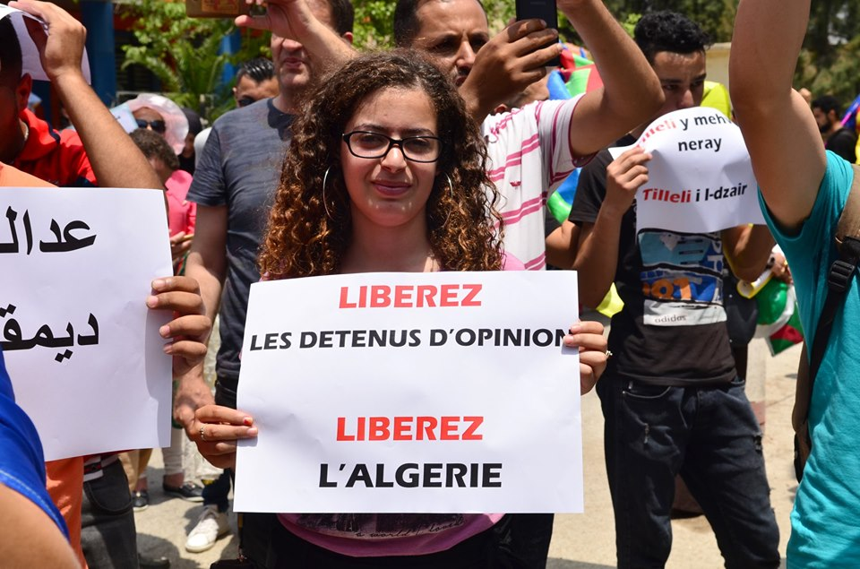 Bejaia: Mardi, 02 Juillet 2019. Dix-neuvième marche de la communauté universitaire pour dénoncer la justice aux ordres et exiger la libération de tous les détenus d'opinion. 585