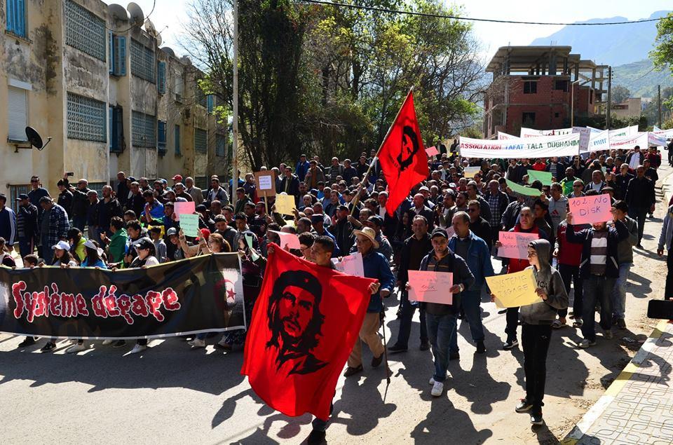 Marche contre le système à Aokas le samedi 30 mars 2019 716