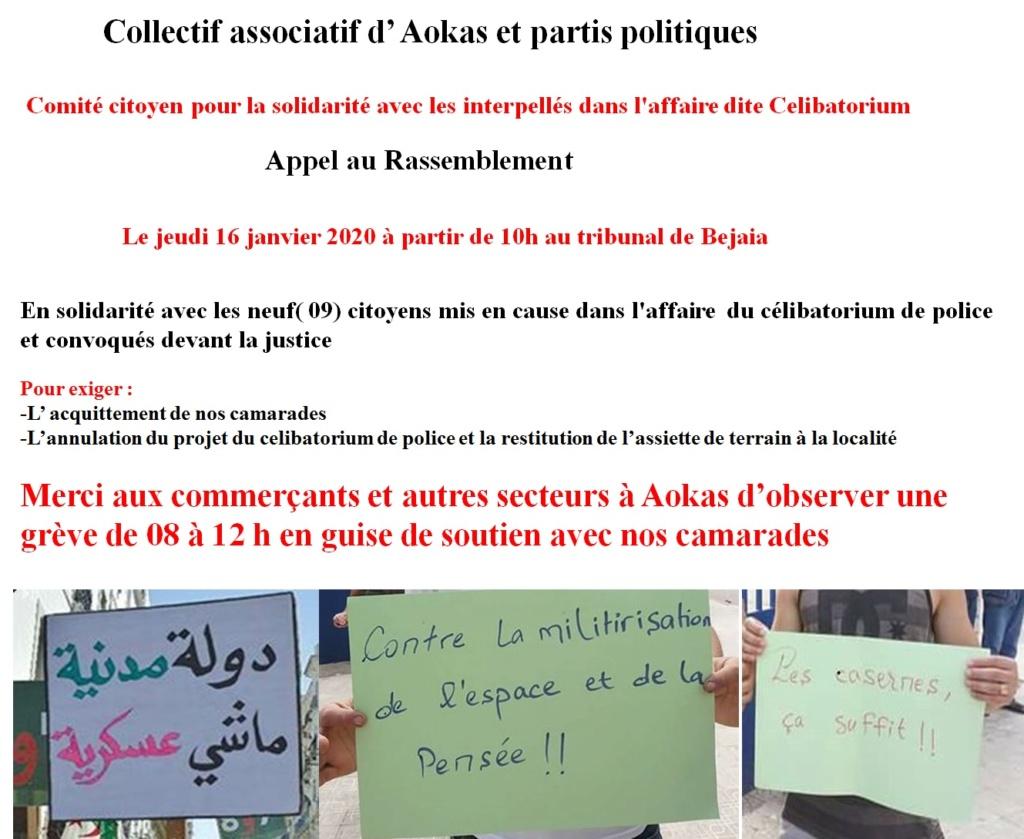 Comité citoyen pour la solidarité avec les interpellés dans l'affaire dite Celibatorium 729